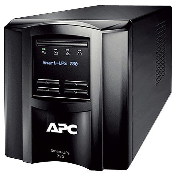 APC 無停電電源装置 ブラック SMT750J [SMT750J]【NATUM】
