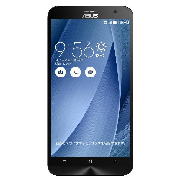 ASUS ASUS Zenfone2 SIMフリースマートフォン LTE対応 ZenFone2 ZE551ML-GY64S4 [ZE551MLGY64S4]【SYBN】