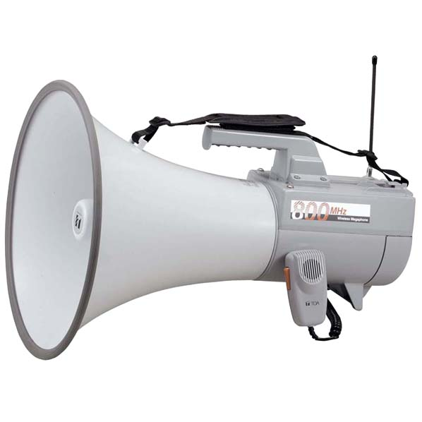 TOA ワイヤレスメガホン(ホイッスル音付) ER2830W [ER2830W]
