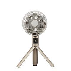 ドウシシャ DCモーター搭載リビング扇風機 Kamome Fシリーズ シャンパンゴールド FKLT201DCGD [FKLT201DCGD]【RNH】