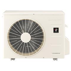 【標準設置工事費込み】シャープ 10畳向け 冷暖房インバーターエアコン KuaL プラズマクラスターエアコン ホワイト AYJ28DE7S [AYJ28DE7S]【RNH】