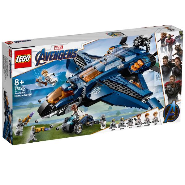 レゴジャパン LEGO マーベル 76126 アベンジャーズ・アルティメット・クインジェット 76126アベンジヤ-ズアルテイメツト [76126アベンジヤ-ズアルテイメツト]
