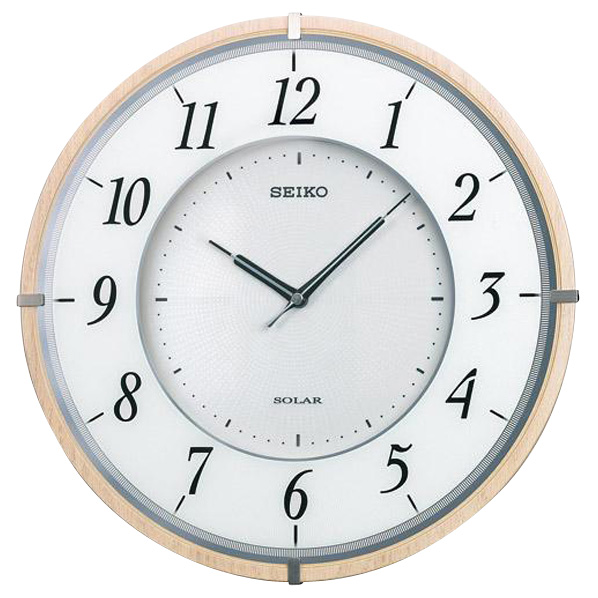 SEIKO ソーラー電波掛時計 SF501B [SF501B]