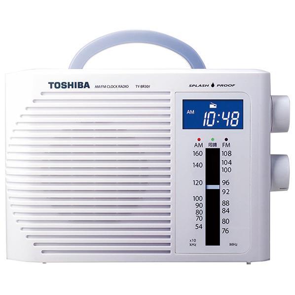 東芝 防水ラジオ ホワイト TY-BR30F(W) [TYBR30FW]【RNH】