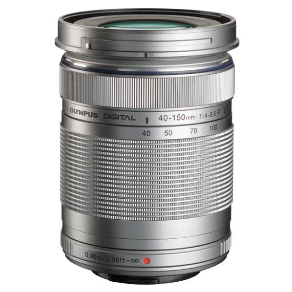 オリンパス 望遠ズームレンズ M.ZUIKO DIGITAL ED 40-150mm F4.0-5.6 R シルバー MZUIKO40-150mmF4056Rシルバ- [MZUIKO40150MMF4056Rシルバ-]