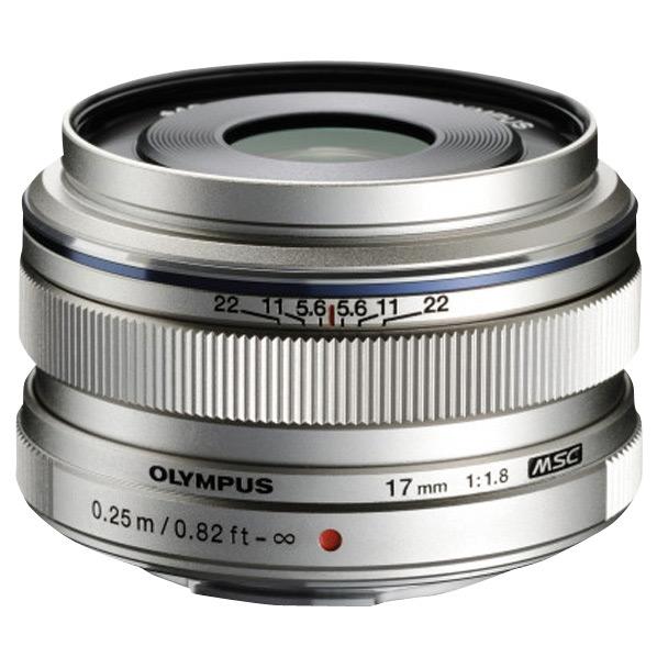 オリンパス 単焦点レンズ M.ZUIKO DIGITAL 17mm F1.8 シルバー MZUIKO17MMF1.8 [MZUIKO17MMF18]