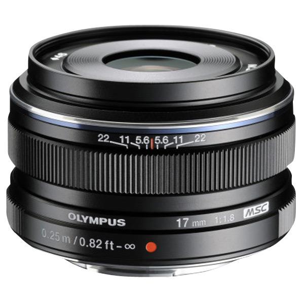 オリンパス 単焦点レンズ M.ZUIKO DIGITAL 17mm F1.8 ブラック 17MM F1.8 BLK [17MMF18BLK]