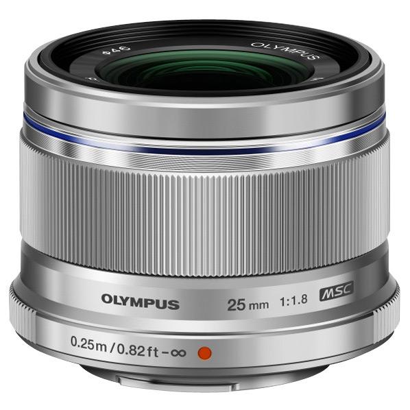 オリンパス 単焦点レンズ M.ZUIKO DIGITAL 25mm F1.8 シルバー 25MM F1.8SLV [25MMF18SLV]