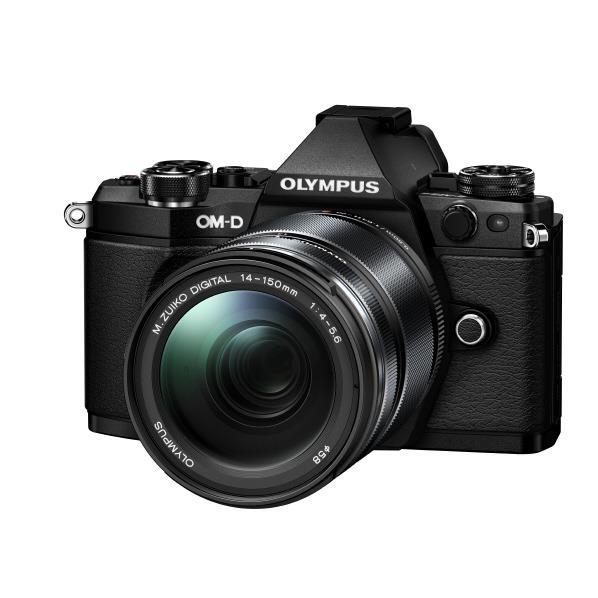 オリンパス デジタル一眼カメラ・14-150mm II レンズキット E-M5 Mark II ブラック OM-DE-M5MARK2 14150ブラツク [OMDEM5MK2LK40150BLK]【RNH】