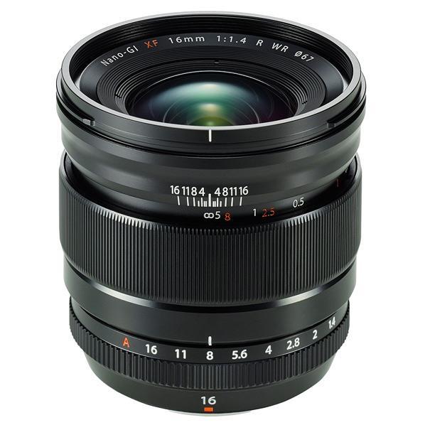 富士フイルム 単焦点レンズ フジノンレンズ F XF16mmF1.4 R WR ブラック FXF16MMF1.4RWR [FXF16MMF14RWR]