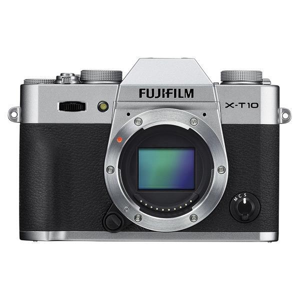 富士フイルム デジタル一眼カメラ・ボディ X-T10 シルバー FX-T10S [FXT10S]【RNH】【SYBN】【MCPI】