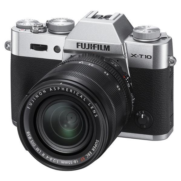 富士フイルム デジタル一眼カメラ・レンズキット X-T10 シルバー FX-T10LKS [FXT10LKS]【RNH】【SYBN】【MMARP】