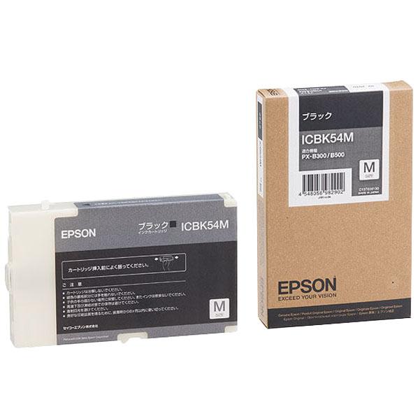 エプソン インクカートリッジ ブラック ICBK54MICBK54MyPwONv80mn