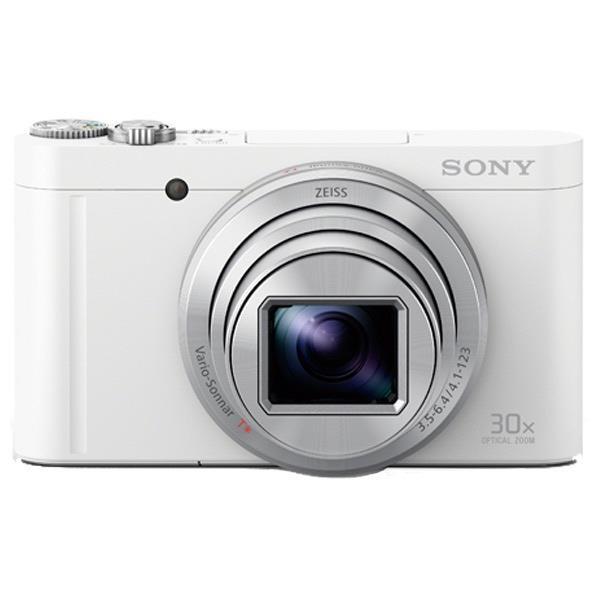 SONY デジタルカメラ Cyber-shot ホワイト DSC-WX500 W [DSCWX500W]【RNH】