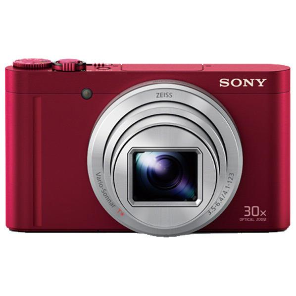 SONY デジタルカメラ Cyber-shot レッド DSC-WX500 R [DSCWX500R]【RNH】