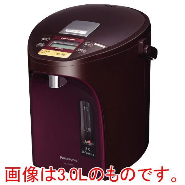 パナソニック ジャーポット(4.0L) ブラウン NC-SU404-T [NCSU404T]【RNH】