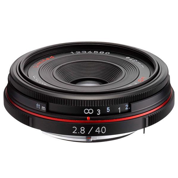 PENTAX パンケーキレンズ HD PENTAX-DA 40mmF2.8 Limited ブラック HD DA40MMF2.8 リミテツドBK [HDDA40MMF28リミテツドBK]