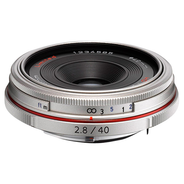 PENTAX パンケーキレンズ HD PENTAX-DA 40mmF2.8 Limited シルバー HD DA40MMF2.8 リミテツドSL [HDDA40MMF28リミテツドSL]【MMARP】