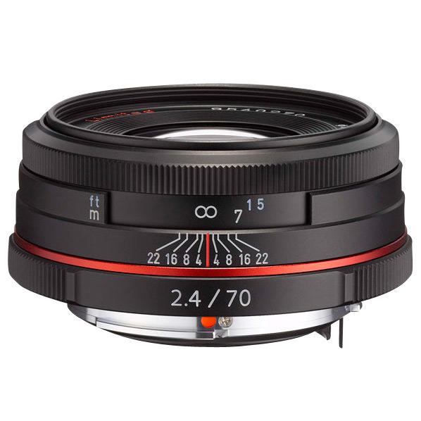PENTAX 望遠レンズ HD PENTAX-DA 70mmF2.4 Limited ブラック HD DA70MMF2.4 リミテツドBK [HDDA70MMF24リミテツドBK]【MMARP】