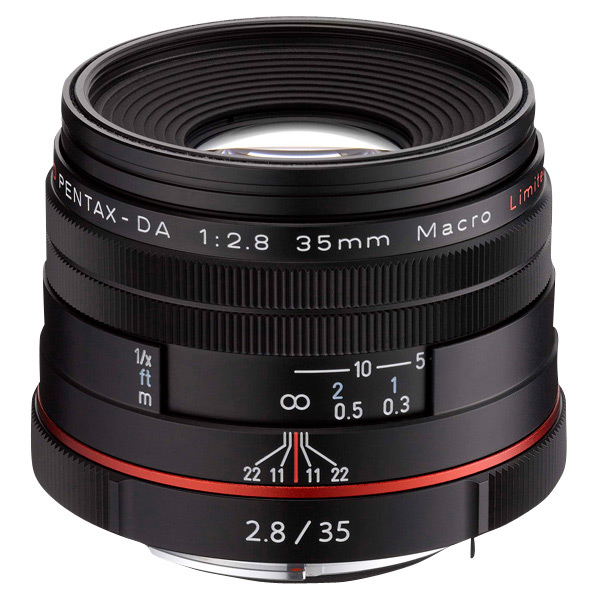 PENTAX マクロレンズ HD PENTAX-DA 35mmF2.8 Macro Limited ブラック HD DA35MMF2.8マクロ リミテツドBK [HDDA35MMF28マクロリミテツドBK]