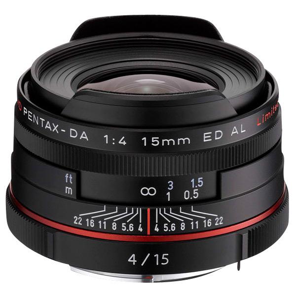 PENTAX 超広角レンズ HD PENTAX-DA 15mmF4ED AL Limited ブラック HD DA15MMF4 リミテツドBK [HDDA15MMF4リミテツドBK]