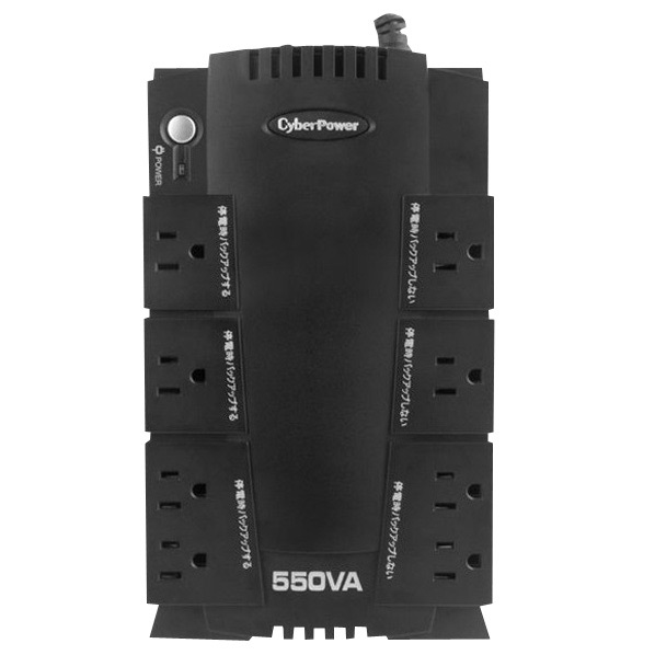 ご家庭やオフィスで単体PCをご利用のすべての方に最適な電力保護システムです CyberPower 送料無料 激安 お買い得 キ゛フト 無停電電源装置 Backup BR 大好評です CP550JP 550