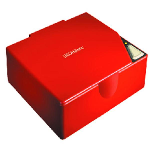 URO電子工業 携帯入れ歯洗浄器 ウロハミック レッド 5200レツド [5200R]