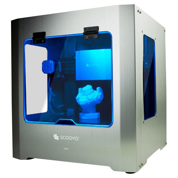 オープンキューブ 3Dプリンタ SCOOVO シルバー SCV-C170-S [SCVC170S]【SYBN】【MMARP】