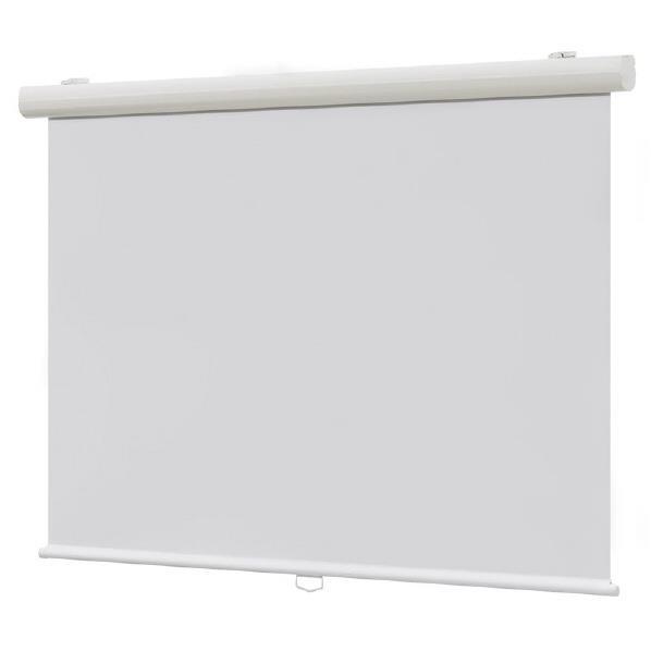 FORBEC アルミケース入り手動巻上スクリーン(80インチ/アスペクトフリー) SKE-80F [SKE80F]