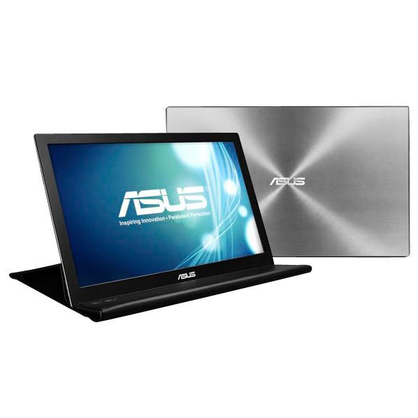 【送料無料】ASUS 15.6型ワイド液晶ディスプレイ シルバー MB168B [MB168B]【RNH】