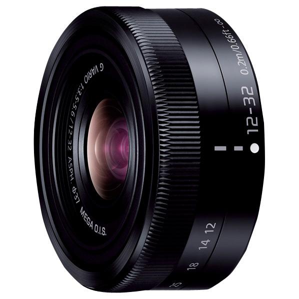 パナソニック ズームレンズ LUMIX G VARIO 12-32mm / F3.5-5.6 ASPH. / MEGA O.I.S. ブラック H-FS12032-K [HFS12032K]