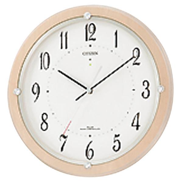 リズム時計 ソーラー電波掛時計 サイレントソーラーM798 4MY798-007 [4MY798007]