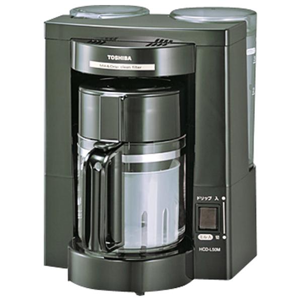 東芝 コーヒーメーカー HCD-L50M(K) [HCDL50MK]【RNH】