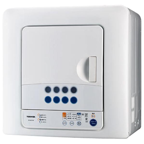 東芝 6.0kg衣類乾燥機 ED-60C(W) [ED60CW]【RNH】