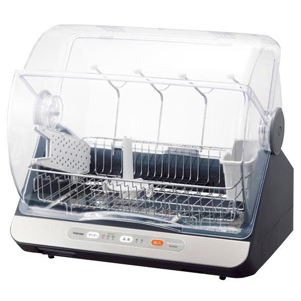 東芝 食器乾燥器 ブルーブラック VD-B15S(LK) [VDB15SLK]【RNH】
