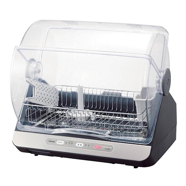 あんしん延長保証対象 正規店 選べるマイコン乾燥2コース搭載 東芝 食器乾燥器 期間限定特別価格 kual ブルーブラック VD10SE9LK RNH VD-10SE9LK