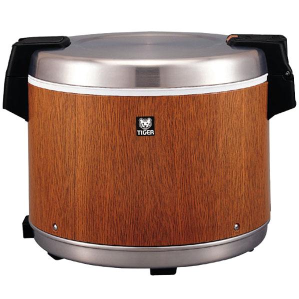 タイガー 電子ジャー(保温専用 4升) 炊きたて® 木目 JHC-7200MO [JHC7200MO]
