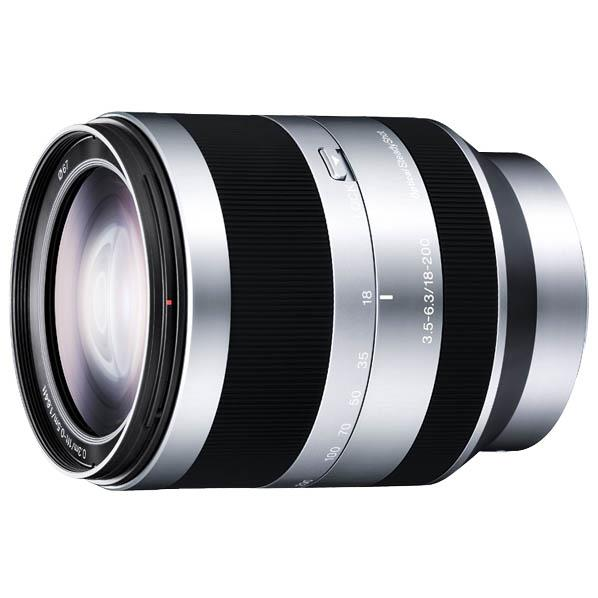 SONY ズームレンズ E 18-200mm F3.5-6.3 OSS SEL18200 [SEL18200]