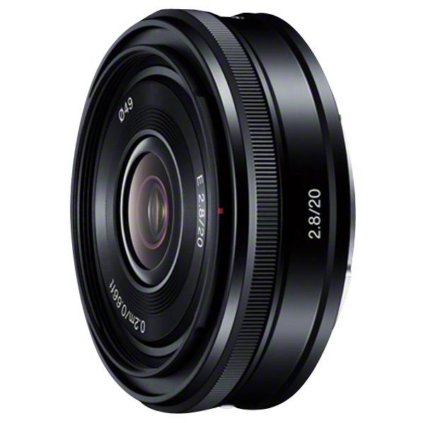 【送料無料】SONY 単焦点レンズ E 20mm F2.8 SEL20F28 [SEL20F28]