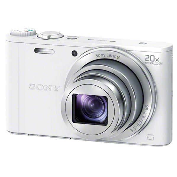 SONY デジタルカメラ Cyber-shot ホワイト DSC-WX350 W [DSCWX350W]【RNH】
