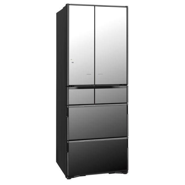 【送料無料】日立 555L 6ドアノンフロン冷蔵庫 真空チルド クリスタルミラー R-X5700F-X [RX5700FX]【RNH】