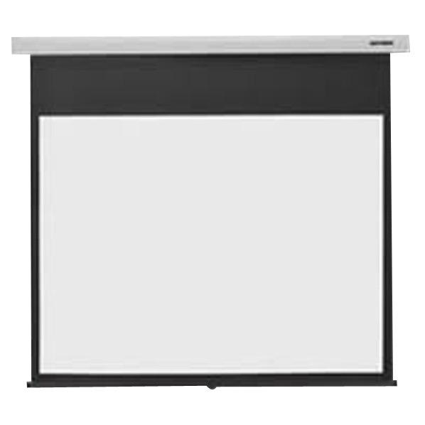 キクチ 110型手動巻き上げスクリーン Stylist スノーホワイト SS-110HDWAC/W [SS110HDWACW]