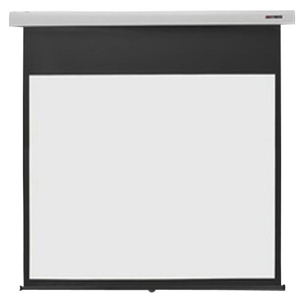キクチ フルHD画質完全対応スプリング巻上げスクリーン(100型) スタイリスト スノーホワイト SS-100HDWA/W [SS100HDWAW]