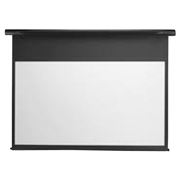 ミッドナイトブラック SS110HDWAK フルHD画質完全対応スプリング巻上げスクリーン(110型) スタイリスト [SS110HDWAK] キクチ