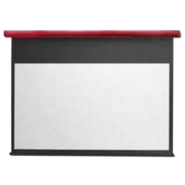 キクチ フルHD画質完全対応スプリング巻上げスクリーン(110型) スタイリスト イタリアンレッド SS110HDPGR [SS110HDPGR]