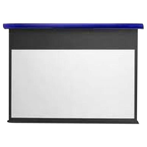 キクチ フルHD画質完全対応スプリング巻上げスクリーン(90型) スタイリスト コバルトブルー SS90HDWAB [SS90HDWAB]