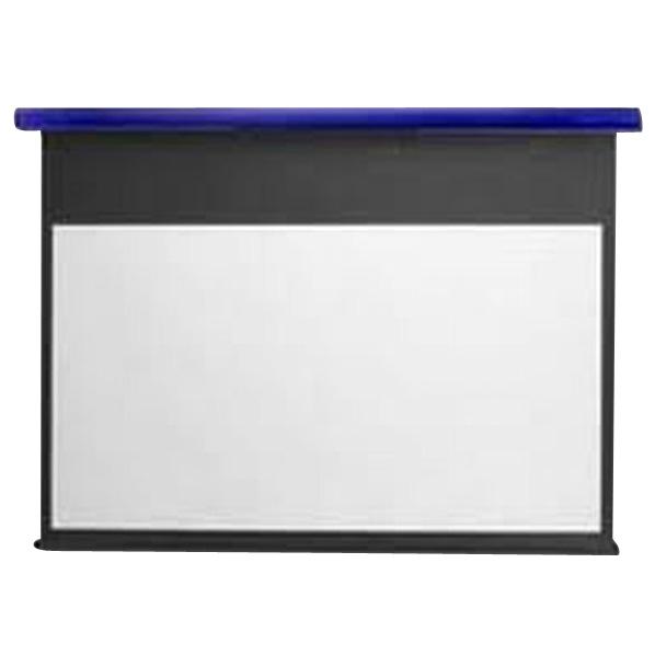 キクチ フルHD画質完全対応スプリング巻上げスクリーン(80型) スタイリスト コバルトブルー SS-80HDPG/B [SS80HDPGB]