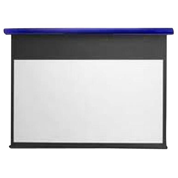 キクチ フルHD画質完全対応スプリング巻上げスクリーン(90型) スタイリスト コバルトブルー SS90HDPGB [SS90HDPGB]