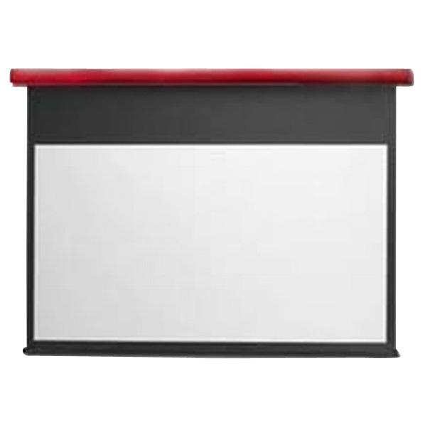 キクチ フルHD画質完全対応電動スクリーン(110型) スタイリスト イタリアンレッド SE110HDWAR [SE110HDWAR]