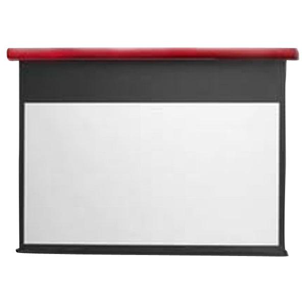 キクチ フルHD画質完全対応電動スクリーン(90型) スタイリスト イタリアンレッド SE90HDWAR [SE90HDWAR]